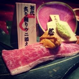 滋賀県長浜にある 肉割烹はなれ 名物シリーズの数々を紹介します