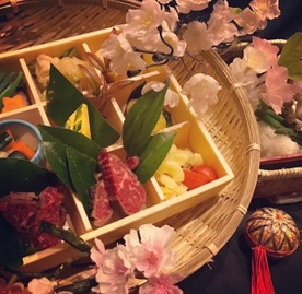 4月限定お花見弁当始めます柊家はなれ特製うますぎる弁当第一弾