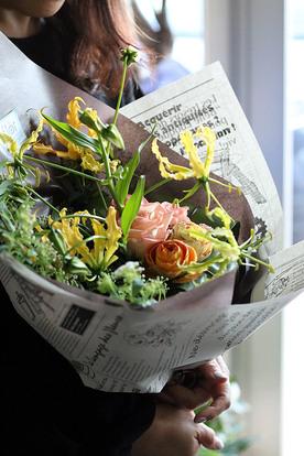 季節限定のテイクアウト商品と素敵なお花のギフトのごあんない